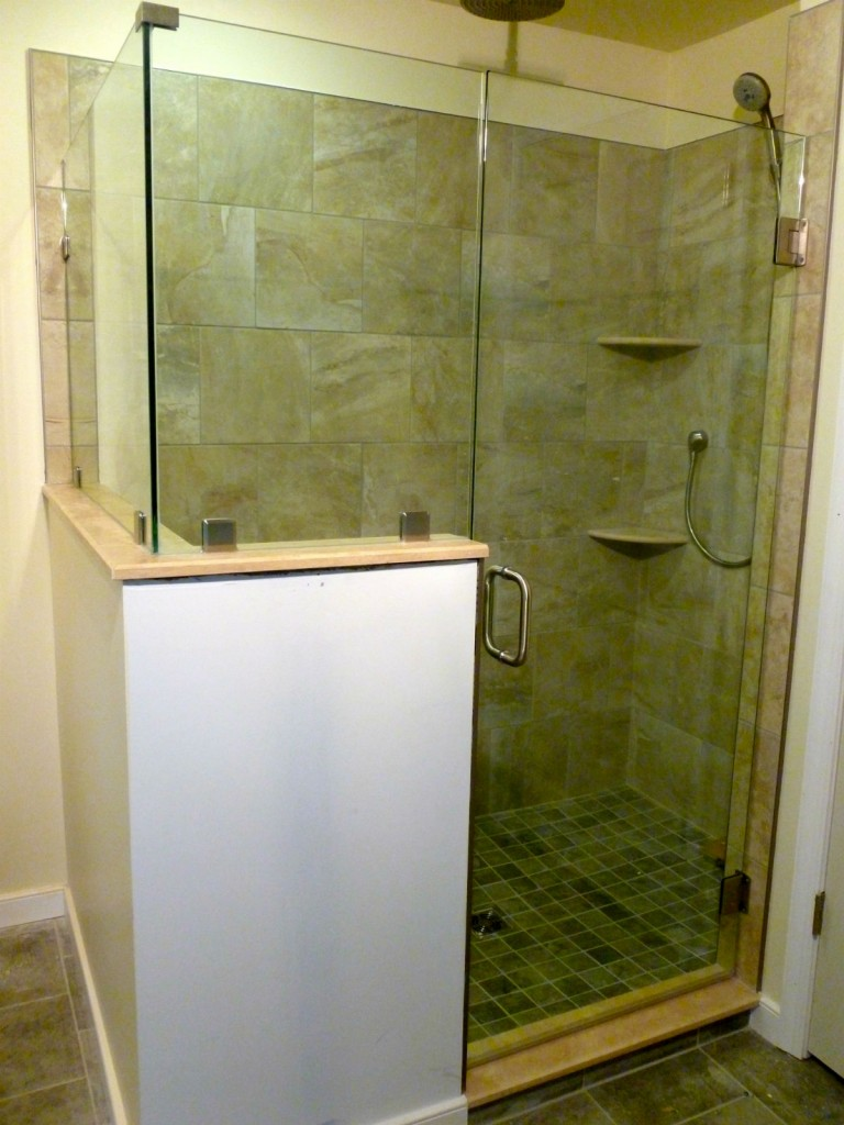 Midlothian Va Frameless Glass Shower Door Enclosure