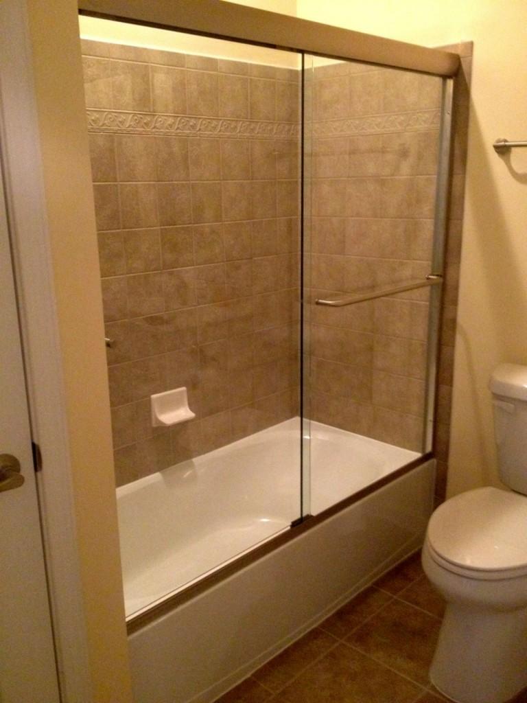 Bathtub Frameless Sliding Glass Doors - Bathtub Ideas