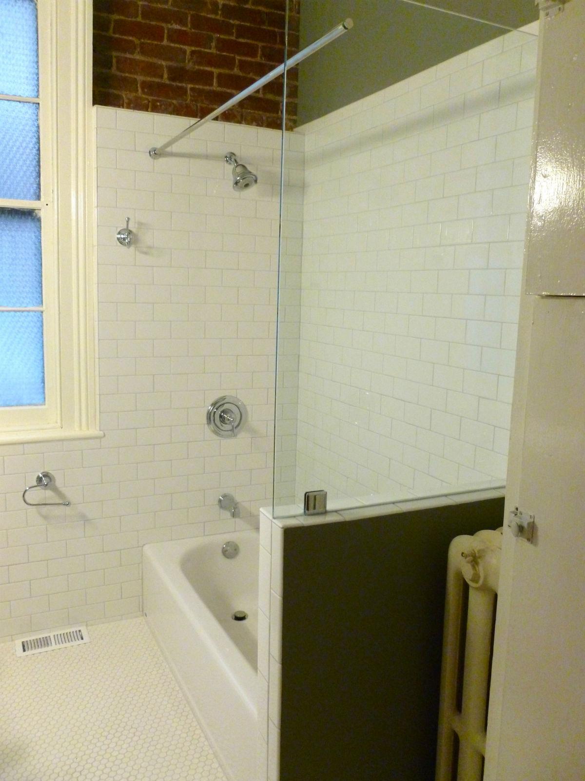 Fan District Shower Door Richmond Va Bath Tub Panel With